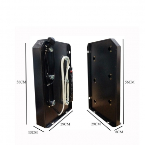 Background Support System 6 bars - 10 Jacaranta