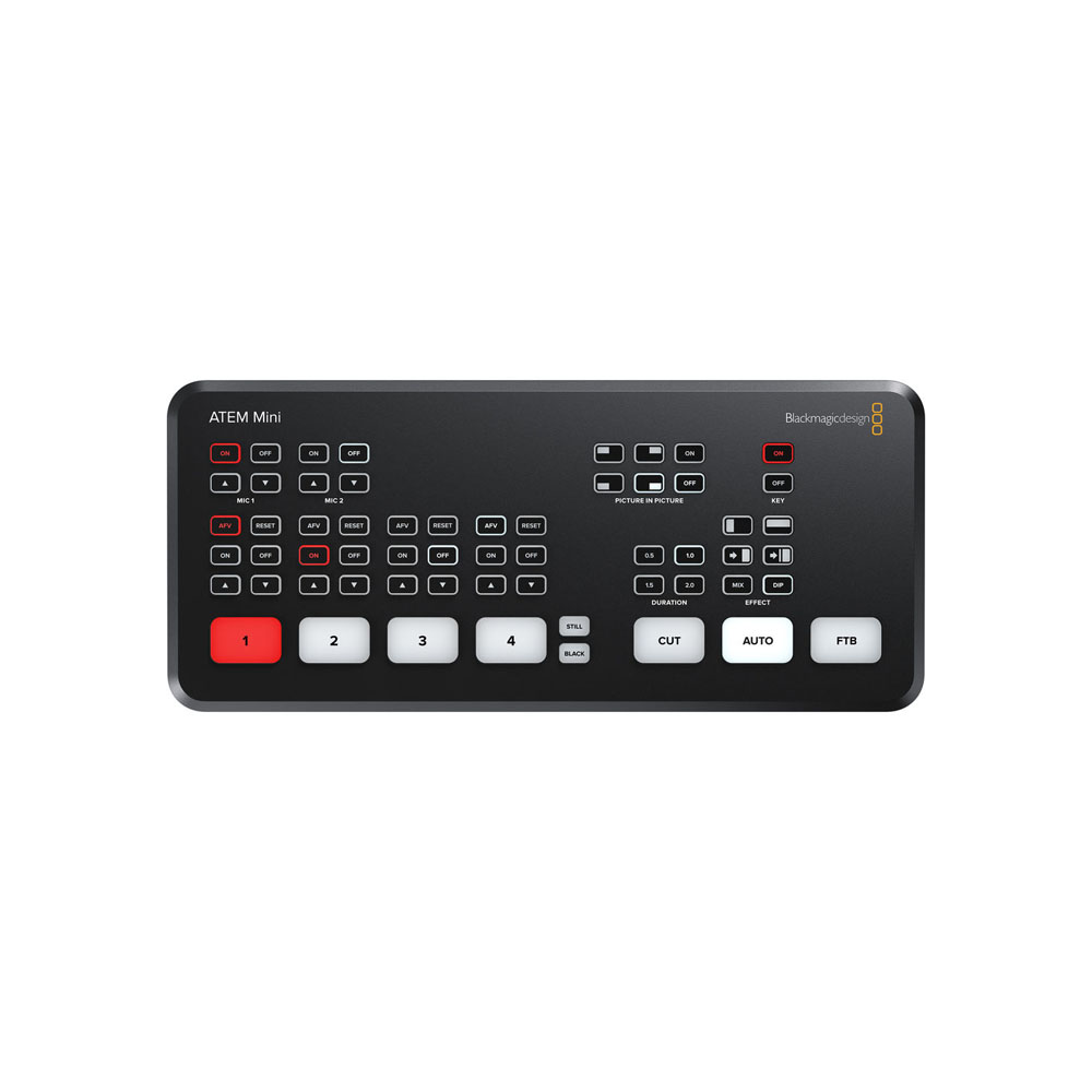 Blackmagic Design ATEM Mini HDMI Live Stream Switcher - 02 Jacaranta
