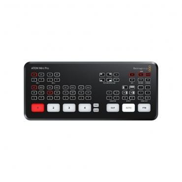 Blackmagic Design ATEM Mini Pro HDMI Live Stream Switcher - 01 Jacaranta