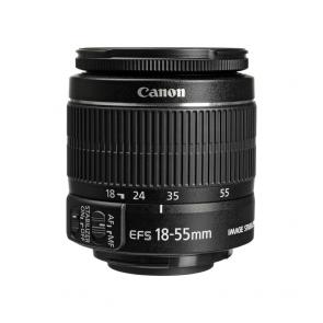 Canon EF-S 18-55mm f3.5-5.6 IS II Lens - 01 Jacaranta