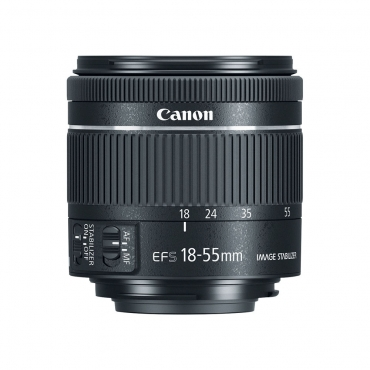Canon EF-S 18-55mm f4-5.6 IS STM Lens - 01 Jacaranta