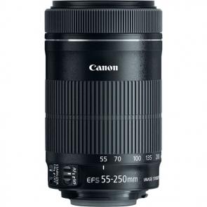 Canon EF-S 55-250mm f4-5.6 IS STM Lens - 02 Jacaranta