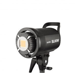 Godox SL Series SL60W 60W White LED Video Light, 5600K Color Temperature - 01 Jacaranta