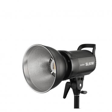 Godox SL Series SL60W 60W White LED Video Light, 5600K Color Temperature - 04 Jacaranta