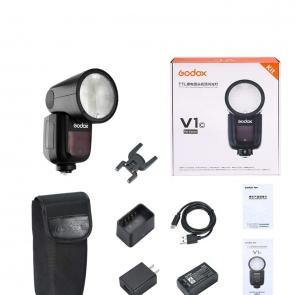 Godox V1-C Round Head Camera Flash Speedlite - 02 Jacaranta