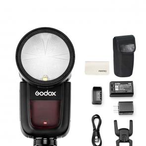 Godox V1-C Round Head Camera Flash Speedlite - 03 Jacaranta