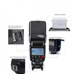 Godox V860C E-TTL HSS Speedlite Flash for Canon - 03 Jacaranta