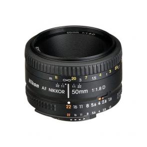 Nikon AF FX NIKKOR 50mm f1.8D Lens - 01 Jacaranta