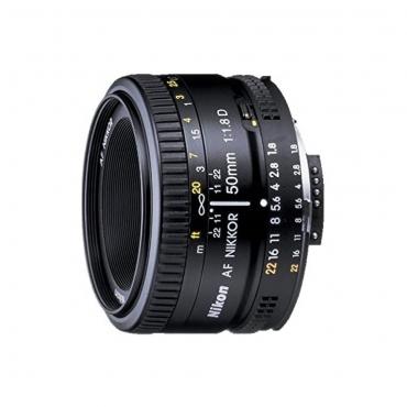 Nikon AF FX NIKKOR 50mm f1.8D Lens - 02 Jacaranta