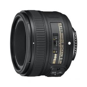 Nikon AF-S Nikkor 50mm f1.8G Lens - 01 Jacaranta