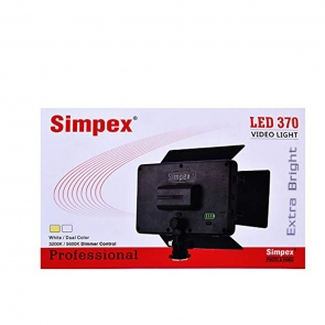 Simpex LED370 Video Light - 01 Jacaranta