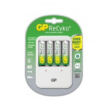 gp-recyko-pb420-aa-aaa-battery-charger-4x-aa-2100mah-batteries