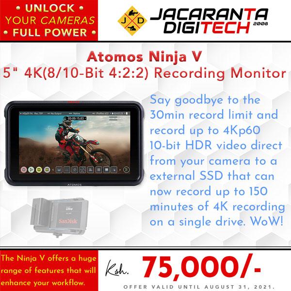 Atomos Ninja V b - 75k